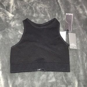 abercrombie cropped workout top/ sports bra